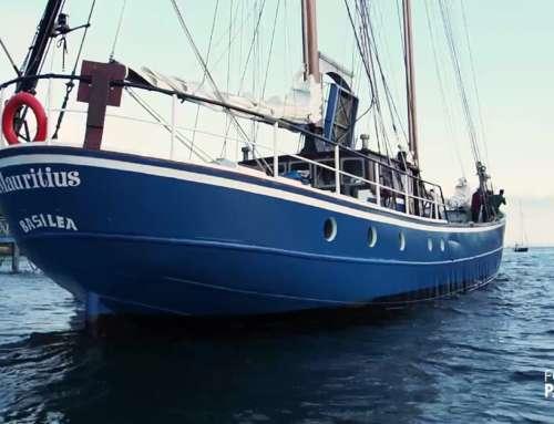 Départ du Mauritius pour the Arctic Expedition!